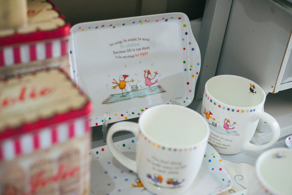 life is too short teacup set